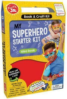 My Superhero Starter Kit by Editors Of Klutz Book & Merchandise Book-G005