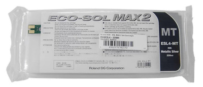 Roland Eco Sol Max2 ESL-4 Metallic Ink Brand New FREE SHIPPING