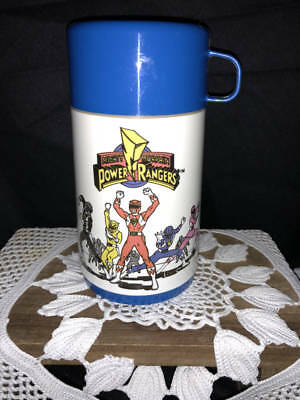 *power Rangers Lunch Thermos*1994 Saban *unused*alladin
