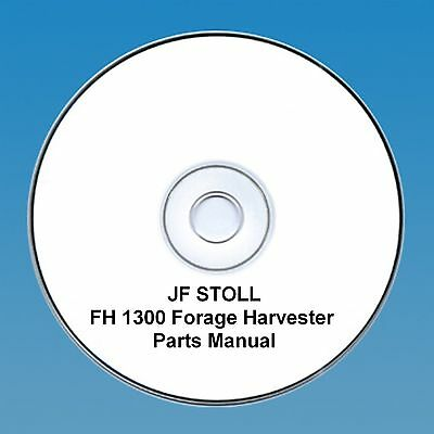 JF Stoll FH 1300 Forage Harvester -  Parts Manual