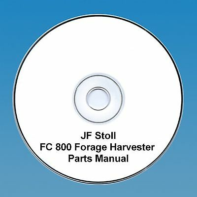 JF Stoll FC 800 Forage Harvester -  Parts Manual