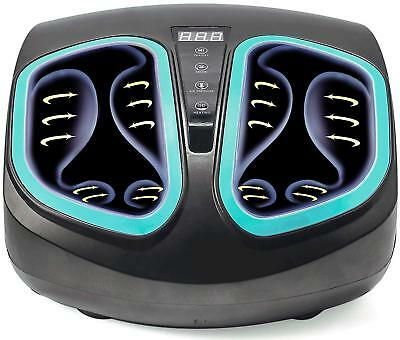 Shiatsu Foot Massager Machine-Electric-Deep Kneading with Heat & Air Compression