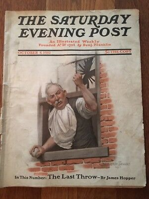 Saturday Evening Post October 5, 1912