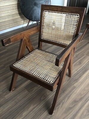 "Vintage Chair designed by Pierre Jeanneret ""Easy Arm Chair"" (Chair A)"