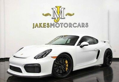 2016 Porsche Cayman GT4~ ONLY 800 MILES! ~ PCCB's~ CARBON BUCKET SEATS 2016 Porsche Cayman GT4 ~ ONLY 800 MILES ~ PCCB's ~ CARBON BUCKET SEATS~ 1-OWNER