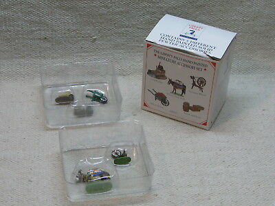 Liberty Falls Hand Painted Pewter Figurines - AH121 - MIB - 1998