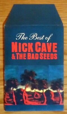The Best Of Nick Cave & The Bad Seeds - Promo Family Tree Poster and Envelope