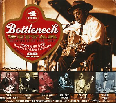 Various - Bottleneck Guitar - Selected Sides 1926-2015 (4-CD) - The Blues