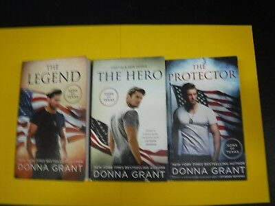 Lot Of 3 Novel By Donna Grant