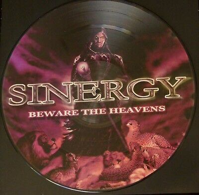 Sinergy ‎– Beware The Heavens PICTURE LP LIMITED EDITION