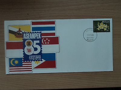 Malaysia 1985 9 Mar ASEANPEX stamp exhibition Pre-stamped Envelope Souvenir p/m