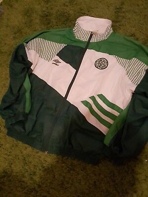Rare Celtic Jacket 90s Umbro Large