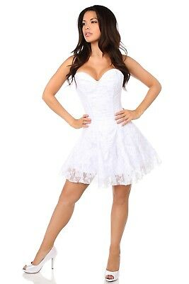 949daa2e323 SEXY DAISY CORSET Top Drawer Sexy Lace Dress Bridal Angel Plus Size  Available