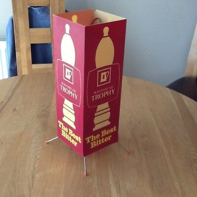 Whitebread Brewery Advertising Table Lamp 1960,s