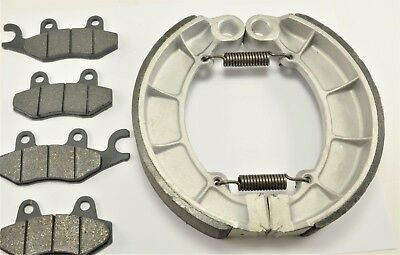 Rear Brake Shoes for KAWASAKI KLF300C Bayou300 4x4 1995-2000