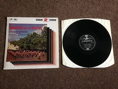 Marching With The Beatles Very Nice Vintage Emi Vinyl Lp Free Postage