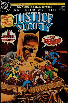 AMERICA vs JUSTICE SOCIETY 1-4 NM+/NM/M 9.6-9.8 US ONLY