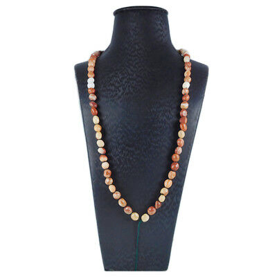 Red Malachite Beads Chain for Necklace ED702020