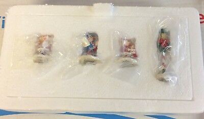 Hawthorne Village Christmas Town Carolers Rudolph's Christmas Collection New