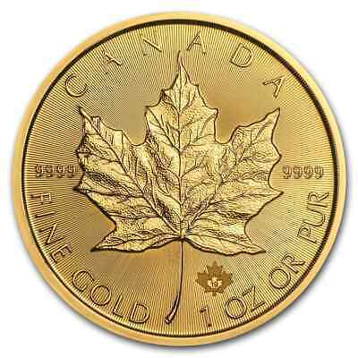 2019 Canada 1 oz Gold Maple Leaf BU - SKU#171442