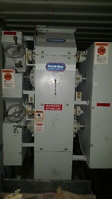 Ferrell-Ross Mat Processing Model 10X12 2HI M-Industrial Series Roller Mill New