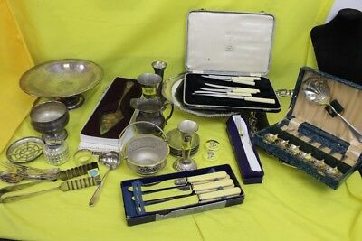 Large Job Lot Of 8.25KG Of Silver Plated Items ##OAFWHJS