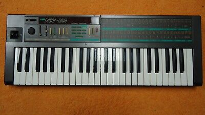 VINTAGE KORG POLY 800 synth 1980's synthesizer analog keyboard power supply tape
