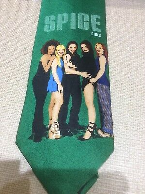 Spice Girls Tie by Georg (ASDA) - Official Merchandise - Rare & Collectible