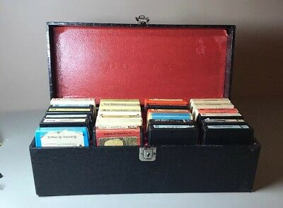 Lot Of 8 Tracks With Carrying Case
