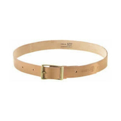 """KLEIN TOOLS General-Purpose Leather Belt- 5202L-Fits Sizes 38"""" To 46""""- F.Ship"""