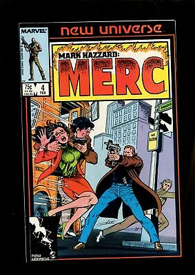 Mark Hazzard Merc 4 (9.0) Marvel (B044)