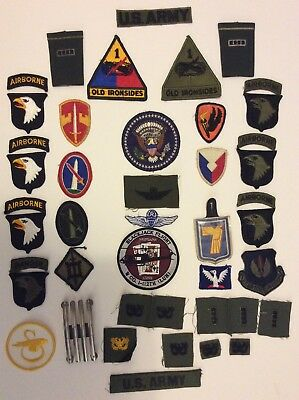 U.S. military patches