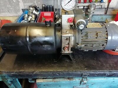 hydraulic power pack 0.5 kw 3 phase 2 lpm at 500 psi