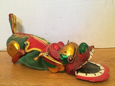 Antique Wooden Chinese Dragon Puppet