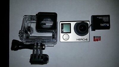 GoPro HERO 4 Action  Black Edition Camera - Hero4 Only used for a few hours.