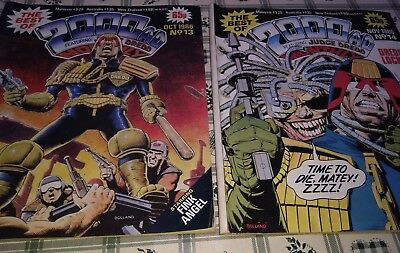 The Best of 2000AD no 13 + 14