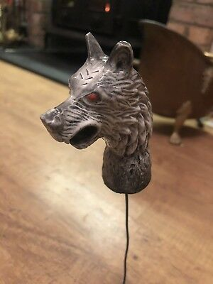 Wolf Walking Stick Handle Head Game Of Thrones