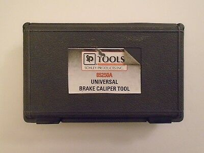 Schley Products Tools 85250A Universal Brake Caliper Tool w/Case