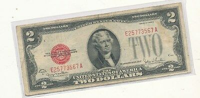 1928G $2 red seal note