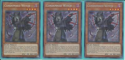 SOFU-EN028 CONDEMNED WITCH – Secret Rare - 3X Unlimited Edition GET YOURS FIRST!