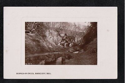 L@@K  Berwick on Tweed Horncliffe Hill 1917 ? RP Postcard