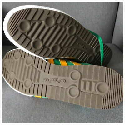 authorized site first rate lower price with ADIDAS ORIGINALS SAMBA Super Green Suede & Yellow Stripes ...