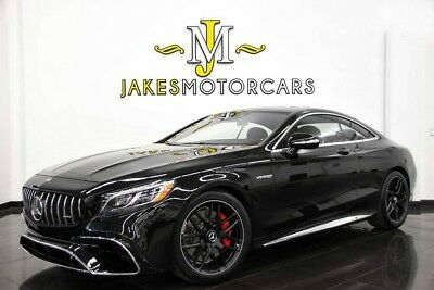 2018 Mercedes-Benz S-Class S63 AMG DESIGNO COUPE ($188,245 MSRP!) 2018 S63 AMG DESIGNO COUPE~ $188,245 MSRP~ OBSIDIAN BLACK ON DESIGNO BENGAL RED