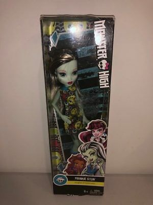 Monster High Frankie Stein Daughter of Frankenstein Mattel Doll
