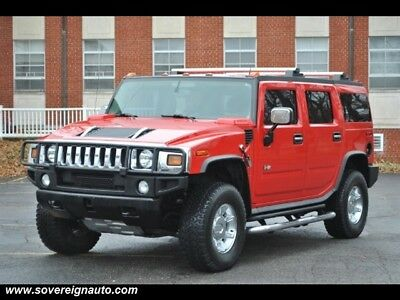 2004 H2 Victory Red Limited Edition 2004 Hummer H2 Victory Red Limited Edition LOW MILEAGE NO RUST!!!