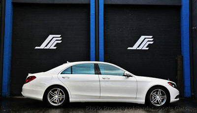 2016 Mercedes-Benz S-Class 4dr Sedan S 550 RWD 2016 Mercedes Benz S550 Distronic Plus Heads Up Display FinancingAvailable Trade