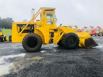 Michigan 125Dc-3A Articulating Wheel Loader Full Cab Snow Plow Bob Cat Payloader