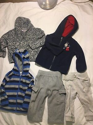 used baby clothes lot 12-18 months boy