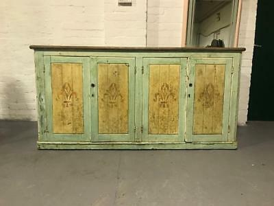 Victorian painted French Sideboard.
