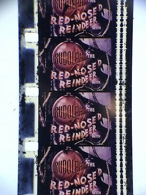 "16mm Sound lpp color cartoon Rudolph the Red Nosed Reindeer Classic 400"" vg 1948"